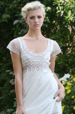 Jane Austen, Grecian, could be worn as casual wedding dress
