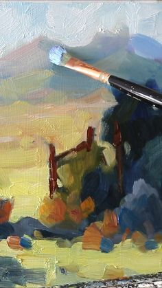 Many artists want to loosen up their painting style. A loose and painterly approach to creating paintings in an impressionist style is highly desirable. But to get that loose and expressive style can be very difficult. In this article and video I am going to give you my Number One Tip for changing a tight style to a loose one. Acrylic Painting Lessons, Acrylic Painting Techniques, Art Techniques, Painting & Drawing, Drawing Tips, Gouche Painting, Impressionist Paintings, Impressionist Landscape, Guache