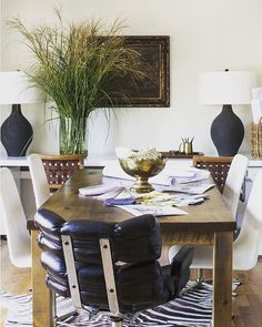 """Thanks so much to @chairishco for featuring me as their """"design crush"""" today!  Check out my favorite vintage finds on the chairish.com homepage ❤️. 📷 of our design studio by @helennorman"""