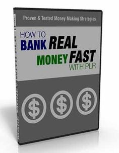 Bank Real Money Fast PLR – Video Series