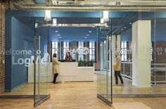 Cloud collaboration company LogMeIn recently moved into a new 100,000 square-foot headquarters located in Boston's Innovation District. The project was managed by T3 Advisors.