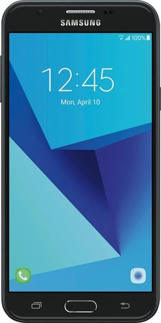 Total Wireless - Samsung Galaxy J7 Sky Pro 4G LTE with 16GB Memory Prepaid Cell Phone - Black