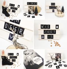 Tekstbord | Textboard | 29x21,5 cm | 88 cards | Order at www.vanmariel.nl | €…