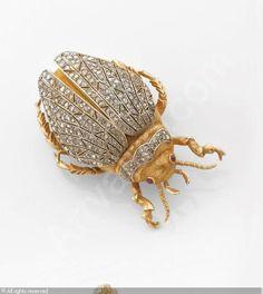 BUCCELLATI Jewellery,Broche 'Scarabée.