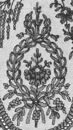 Jo Ann Eurell's Chantilly Shawl Motif copyright 2002 http://www.internationalorganizationoflace.org/Patterns/JoAnnEurell_chantilly/joannchantilly.html