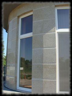 Épületmunkák - gránit falburkolat Windows, Ramen, Window