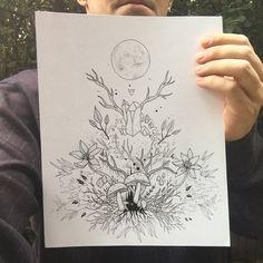 strange*forest: the art of R. Gilbert : Photo