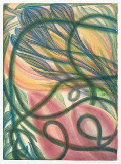 Gemälde kaufen Georgiana Houghton online kunst Flower and Fruit of Henry Lenny - Abstract Painters, Abstract Art, Spirit Drawing, Dates, Spiritual Images, Digital Museum, Autumn Art, Art Studies, Surreal Art