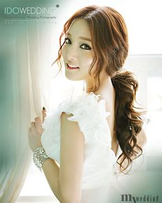Korean Wedding Photo - Hair & Makeup Style