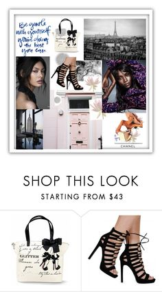 """""""Untitled #563"""" by nene55 ❤ liked on Polyvore featuring Komar, Chanel, women's clothing, women, female, woman, misses and juniors"""