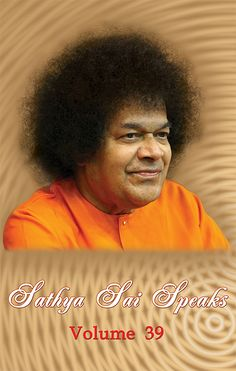 Sathya Sai Speaks Vol. 39 PAPERBACK is available on Amazon India - www.amazon.in/dp/817208594X. Sairam! :)