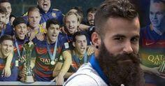 Creo que el Barça le hace daño al futbol porque los ves jugar a ellos luego ves jugar a otros equipos o a uno mismo se ve jugar dices: si eso es futbol qué jugamos nosotros? -Marc Crosas-