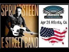 Full B. SPRINGSTEEN Live ATLANTA,GA. 26th April 2014, (Audio HH Tour)