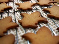 Honey Fleur de Lys recipe - French Food At Home with Laura Calder - Cooking Channel Chocolate Drop Cookies, Honey Cookies, Baking Cookies, Holiday Cookie Recipes, Holiday Cookies, Candy Recipes, French Food At Home, Biscuits, Cookie Time