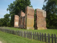 Ambler ruins, New Towne  (Accessible Archaeology - Review of Historic Jamestowne, TripAdvisor)