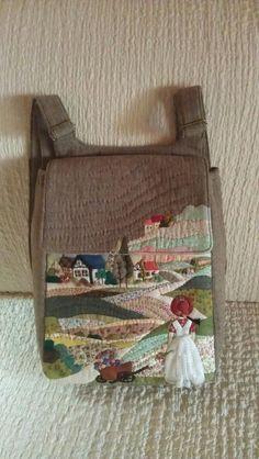pinterest em patchwork | Mochila Patchwork | Bolsos | Pinterest