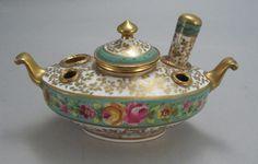 French Porcelain & Gilt Bronze Ink Well & Desk Seal Sevres | eBay