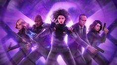 """Marvel Entertainment is engaging in its first-ever collaboration between TV and gaming divisions: The studio will bring nine characters from ABC's """"Agents of SHIELD"""" to the free-to-play """"Marvel Future Fight"""" mobile game. Agents Of Shield Characters, Marvels Agents Of Shield, Marvel Characters, Quake Marvel, Marvel Art, Marvel Comics, Marvel Games, Marvel Future Fight, Destroyer Of Worlds"""