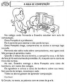 Pin Em Atividades Portugues