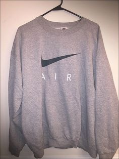 Vintage 90's Nike Air USA White Tag Crewneck Sweatshirt - Size Large by JourneymanVintage on Etsy