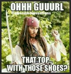 Pirates of the Caribbean humor. #funny #JohnnyDepp