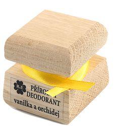 Prírodný krémový dezodorant s vôňou vanilky a orchidei 50 ml Beauty Over 40, Tissue Holders, Facial Tissue, Deodorant