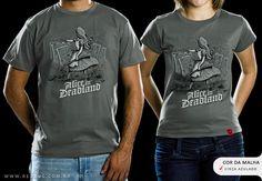 R$49.00 Catálogo - Camiseta Deadland - Camisetas Red Bug