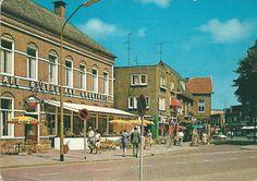 Marktplein met restaurant Groothuis (later Grimme)