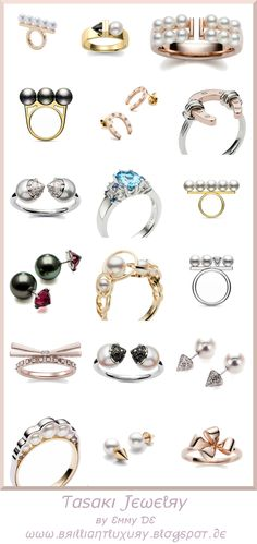 Online shopping for Luxury Jewelry from a great selection at Clothing, Shoes & Jewelry Store. Pearl Ring, Pearl Jewelry, Diamond Jewelry, Blue Topaz Ring, Pandora Jewelry, Luxury Jewelry, Cocktail Rings, Jewelry Design, Designer Jewellery