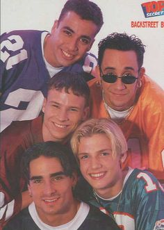 Backstreet Boys: Howie Dorough, A.J. McLean, Brian Littrell, Nick Carter and Kevin Richardson