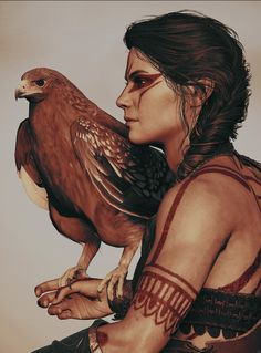 Dnd Characters, Dungeons And Dragons Characters, Fantasy Characters, Female Characters, Arte Assassins Creed, Assassins Creed Odyssey, Assassins Creed Tattoo, Foto Fantasy, Dark Fantasy