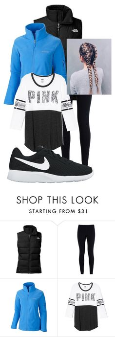 """Ice Skating Trip Outfit"" by chloefaust on Polyvore featuring The North Face, NIKE, Columbia and Victoria's Secret"