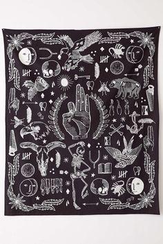 urbnite: Tattoo Tapestry