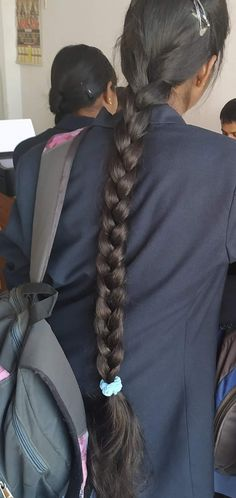 Indian Hairstyles, Braided Hairstyles, Cool Hairstyles, Beautiful Braids, Beautiful Long Hair, Indian Long Hair Braid, Braids For Long Hair, Dreadlocks, Long Hair Styles