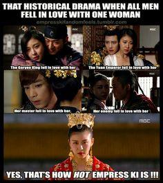 Empress Ki - Because it's Ha Ji Won, no boring episodes! This drama is sooo amazing.