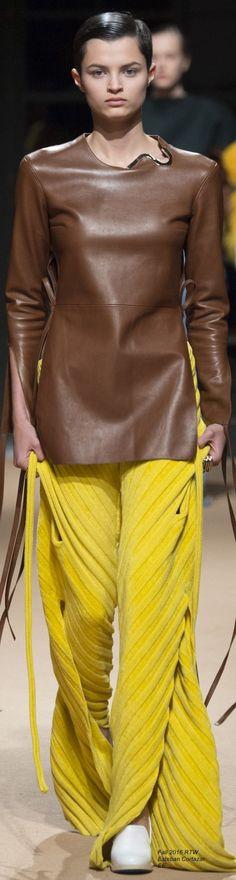 @roressclothes closet ideas women fashion outfit clothing style Fall 2016 Ready-to-Wear Esteban Cortazar - EE: