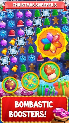 https://itunes.apple.com/us/app/christmas-sweeper-free-match/id1175433851 sweeper,christmas,christmas match 3,santa's chimney,christmas crush,christmas cookies,match 3 puzzle game,santa's 1