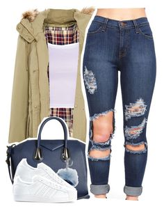 """""""Where You Belong"""" by queen-tiller ❤ liked on Polyvore featuring Pull&Bear, Givenchy, Michael Kors and adidas"""