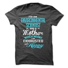 ENVIRONMENTAL SCIENTIST T-Shirts, Hoodies. CHECK PRICE ==►…