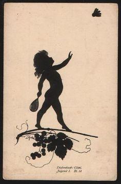 Badminton shadow