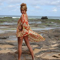 Voulpsa summer dress ethically made in Bangladesh by Bacharra