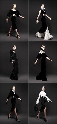 Alexander McQueen Women's Fall/Winter 2013