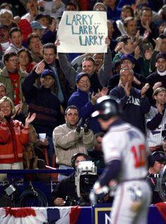 Chipper Jones and Mets Fans - 1999