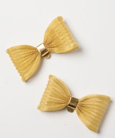 bow tie shoe clips