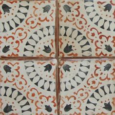 Exquisite Surfaces The La Terre Collection Features Moorish Inspired Hand Stenciled Terra Cotta Tiles That Evoke An Old World Look While Maintaining A