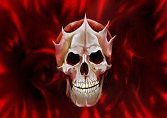 Queen's skull by janbrutal on DeviantArt