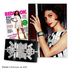 We are so delighted that our gorgeous Special Edition Elysian cuff is prominently featured in the December issue of Redbook magazine. The striking cuff makes the perfect arm candy—if we don't say so ourselves!