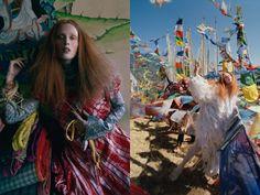 Karen-Elson-Tim-Walker-Vogue Magazine