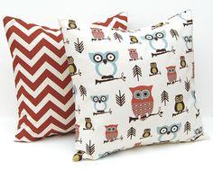 Decorative Throw Pillows Owl Decor