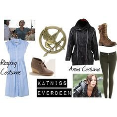 katniss girl on fire from the hunger games costume game costumes hunger games and costumes - Primrose Everdeen Halloween Costume